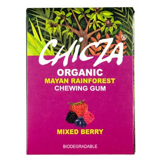 CHICZA® Bio-Kaugummi Mixed Berry, 30g