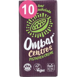 Ombar 10 er Pack Ombar CENTRES Pistazie Creme...